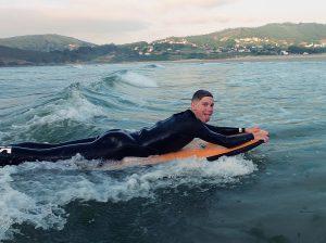 Escuela de surf en Pantín