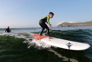 Clase de Surf Santiago de Pantín Surf School